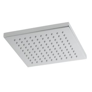 VALE 200mm Square Rain Shower Head - Chrome
