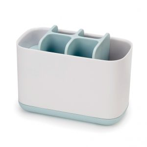 JOSEPH JOSEPH EasyStore Large Toothbrush Caddy - Blue/White