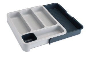 JOSEPH JOSEPH DrawerStore - Cutlery Tray - Grey