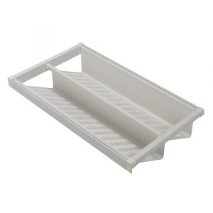 HEUGER Pull Out Shoe Rack for a 900mm Cabinet - White