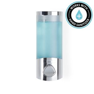 BETTER LIVING EURO Uno Soap and Sanitiser Dispenser 1 - Chrome