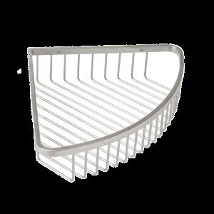 AGUZZO Stainless Steel Corner Basket - Chrome