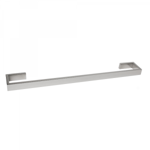AGUZZO MONTANGNA Stainless Steel Single Towel Rail 750mm - Brushed Satin
