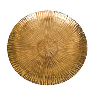 HERCULES 51cm Wide Plate - Antique Brass