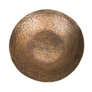 JASON 43cm Wide Decorative Plate - Anqitue Brass