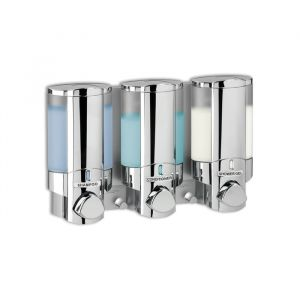 BETTER LIVING AVIVA 300ml Dispenser 3 - Chrome with Chrome Buttons