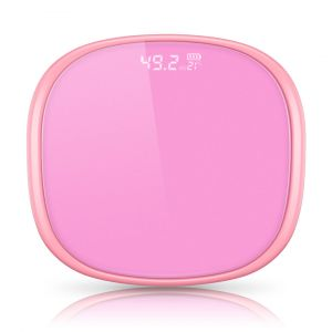 SOGA Digital Bathroom Fitness Scales with LCD Display - Pink