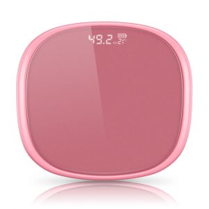 SOGA Digital Bathroom Fitness Scales with LCD Display - Rose