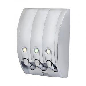 BETTER LIVING CURVE 435ml Dispenser 3 - Silver Gloss