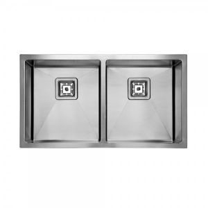 SWEDIA DANTE Kitchen Sink 800mm Double Bowl - 1.5mm Thick Stainless Steel
