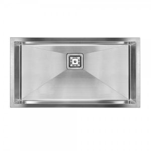 SWEDIA DANTE 810mm Extra Large Single Bowl Stainless Steel Kitchen Sink