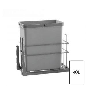 ELITE CACHER 28L Single Slide-Out Concealed Waste Bin (for 30cm cupboard)