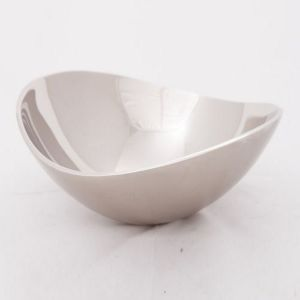 MIA Large 22cm Bowl - Nickel