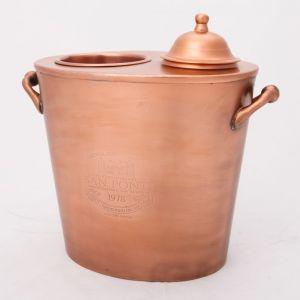 SAN PONTI Hand Engraved Single Bottle Wine Cooler - Copper