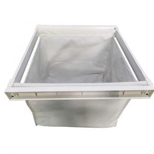 HEUGER Pull Out Storage Bag/Laundry Hamper for 60cm wide Cabinet