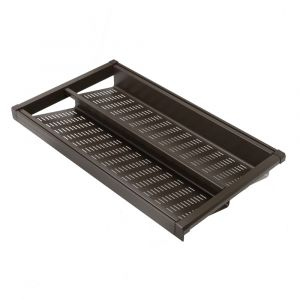HEUGER Pull Out Shoe Rack for a 900mm Cabinet - Chocolate