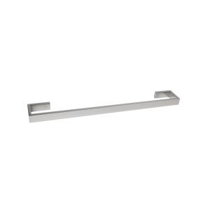 AGUZZO MONTANGNA Stainless Steel Single Towel Rail 600mm - Polished