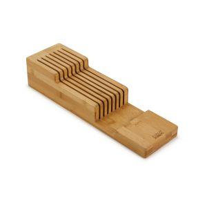 JOSEPH JOSEPH DrawerStore Bamboo 2 Tier Knife Organiser