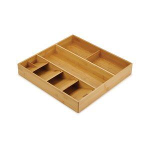 JOSEPH JOSEPH DrawerStore Bamboo Cutlery, Utensil & Gadget Organiser