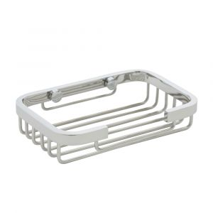 AGUZZO Stainless Steel Soap Basket Dish - Chrome