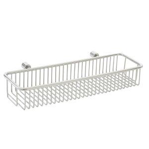 AGUZZO Stainless Steel Wall Basket - Chrome