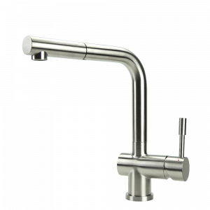 SWEDIA SIGGE Stainless Steel Kitchen Mixer Tap With Pull-Out - Brushed