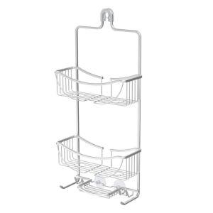 BETTER LIVING VENUS 3 Tier Hanging Shower Caddy - Aluminium Grey