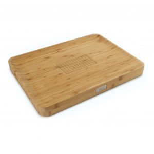 JOSEPH JOSEPH Cut & Carve Chopping Board - Bamboo