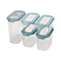JOSEPH JOSEPH CupboardStore 5 piece Food Storage Set - Opal